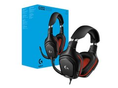 Auriculares Gamer Logitech G332 Con Microfono Ideal Gaming