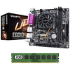 Combo Kit Actualizacion Mother E6010N + Micro AMD + Memoria Ram DDR3