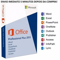 MICROSOFT  OFFICE PROFESSIONAL PLUS 2013 ( DOWNLOAD ) + NOTA FISCAL