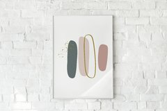 "Quadro ""Brush 1-Shades Of Spring"" - comprar online"