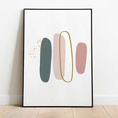 "Quadro ""Brush 1-Shades Of Spring"""
