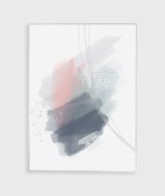 Quadro Decorativo Abstrato Aquarela - comprar online