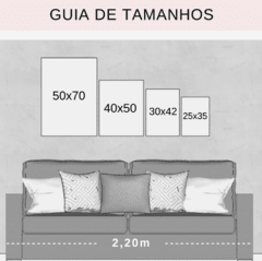Gallery Wall - Conjunto com 5 Quadros Decorativos - Aconchego + Monstera Spring + Good Day + Ramo Minimalista + Brush Spring 02 na internet