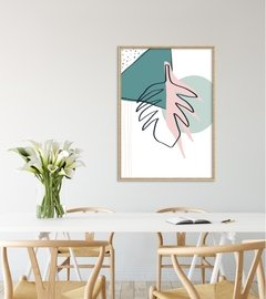 "Quadro ""Botanical Mint"" na internet"