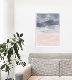 "Quadro ""Rose And Blue Ocean"" - comprar online"