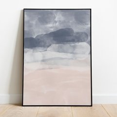 "Quadro ""Rose And Blue Ocean"""