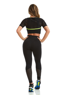CROPPED POWERFUL - CAJU BRASIL - Jump Fitness