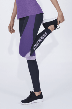 Legging Alto Giro Athletic Start Running