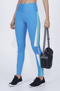 Legging Athletic com Recortes e Silk Alto Giro