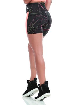 Short Neon Light Double Print - Caju Brasil