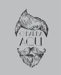 Camiseta O Barba Aqui na internet