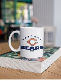 Caneca Porcelana Chicago Bears na internet