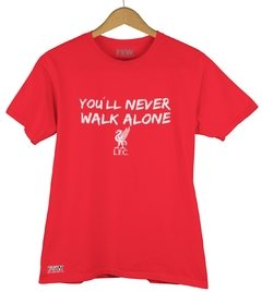 Camiseta Liverpool - You´ll Never Walk Alone - comprar online