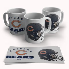Caneca Porcelana Chicago Bears