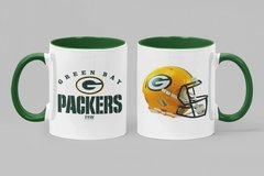 Caneca Porcelana Green Bay Packers - comprar online