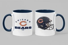 Caneca Porcelana Chicago Bears - Fan Sport Wear