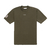 NEOPRENE ARMY_GREEN [HEAVY] BOX TEE