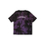 TIE DYE PURPLE [DOUBLE FACE] TEE