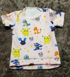 Camiseta Pokemom