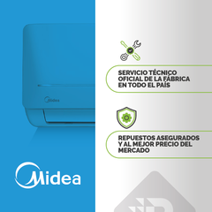 SPLIT MIDEA INVERTER 4420 FR FC - Pronto Distribuidora
