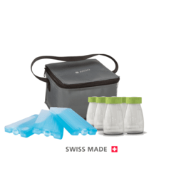 Kit marca ARDO de Transporte de Leche, Nevera Cool Bag y Botellas