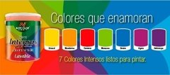 "Látex Interior Lavable Colores ""Intensos"" Netcolor x 4 Lts - comprar online"
