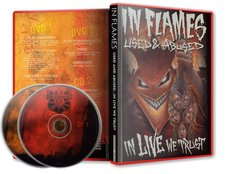 IN FLAMES - USED & ABUSED IN LIVE WE TRUST (CD DUPLO)