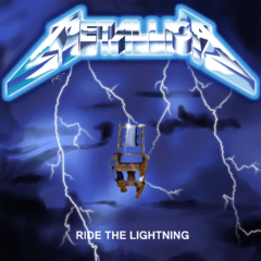 METALLICA - RIDE THE LIGHTNING (PAPER SLEEVE)