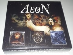 AEON - RISE TO DOMINATE/PATH OF FIRE/AEONS BLACK (LIMITED EDITION BOX) (3CDS)