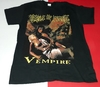 CAMISETA IMPORTADA CRADLE OF FILTH - VEMPIRE
