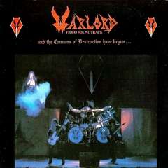 WARLORD - THE CANNONS OF DESTRUCTION HAVE BEGUN...(SLIPCASE)