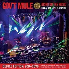GOVT MULE - BRING ON THE MUSIC - LIVE AT THE CAPITOL THEATRE (2CDS/2DVDS)(DIGIPAK)