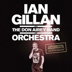 IAN GILLAN WITH THE DON AIREY BAND AND ORCHESTRA CONTRACTUAL OBLIGATION - LIVE IN WARSAW (2CD/DIGIPAK)