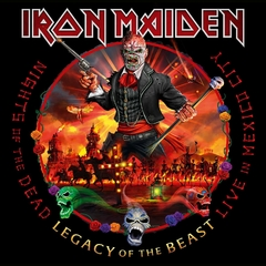 IRON MAIDEN - NIGHTS OF THE DEAD - LEGACY OF THE BEAST: LIVE IN MEXICO (2CD/DIGIPAK)