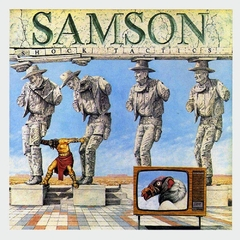 SAMSON - SHOCK TACTICS (SLIPCASE)