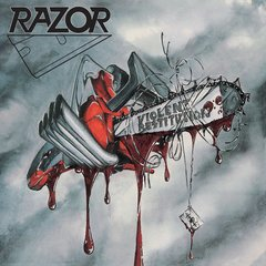 RAZOR - VIOLENT RESTITUTION (SLIPCASE)