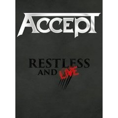 ACCEPT - RESTLESS AND LIVE - BLIND RAGE LIVE IN EUROPE (DVD/2CDS)