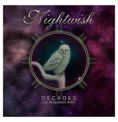 NIGHTWISH - DECADES: LIVE IN BUENOS AIRES (KIT DVD + CD DUPLO ACRÍLICO)