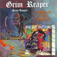GRIM REAPER - SEE YOU IN HELL / FEAR NO EVIL (IMP/RU) (BOOTLEG)