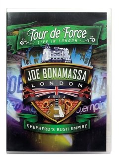 JOE BONAMASSA - LONDON 2013 - SHEPHERD BUSH EMPIRE  (DVD DUPLO)