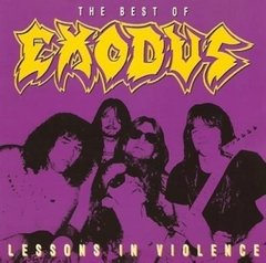 EXODUS - LESSONS IN VIOLENCE (ARG)