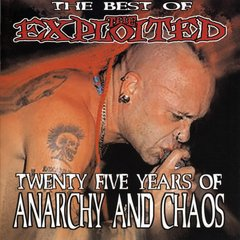 EXPLOITED - THE BEST OF - TWENTY FIVE YEARS OF ANARCHY AND CHAOS