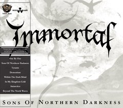 IMMORTAL - SONS OF NORTHERN DARKNESS (SLIPCASE C/ PÔSTER)