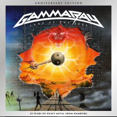 GAMMA RAY - LAND OF THE FREE (25TH ANNIVERSARY EDITION) (DUPLO)