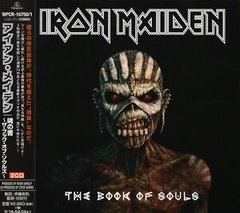 IRON MAIDEN - THE BOOK OF SOULS [CD DUPLO JAPAN] [IMPORT]