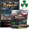 SABATON - HEROES ON TOUR (2DVD/2BLU-RAY/1CD/EARBOOK) (IMP/EU)