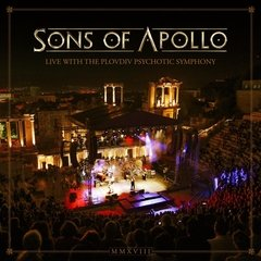 SONS OF APOLLO - LIVE WITH THE PLOVDIV PSYCHOTIC SYMPHONY (3CDS/DVD) (DIGIPAK)