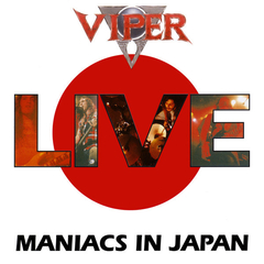 VIPER - LIVE - MANIACS IN JAPAN (PAPER SLEEVE)