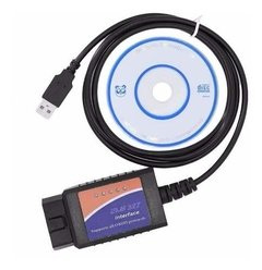 Scanner Automotriz Elm327 Obd2 Multimarca - + Cd - Usb + Mania-electronic