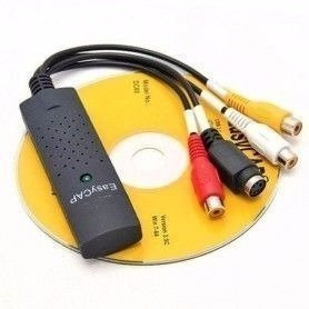 Capturadora Video Rca Easy Cap Usb Externa Vhs A Dvd Easycap, Mania-electronic en internet